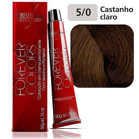 Coloração Forever Colors - Natural 5-0 Castanho Claro