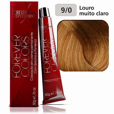 Coloração Forever Colors - Natural 9-0 Louro Muito Claro