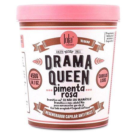 Regenerador Capilar Anti Frizz Drama Queen Pimenta Rosa 450g
