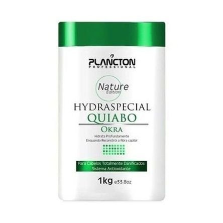 Quiabo Plancton Professional Máscara de Hidratação 1kg