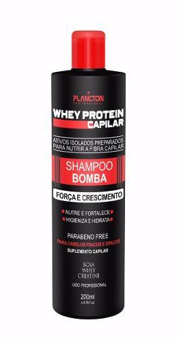 Whey Protein Capilar Plancton Shampoo Bomba 250ml