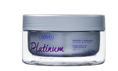 Cadiveu Professional Platinum - Máscara Capilar 140g