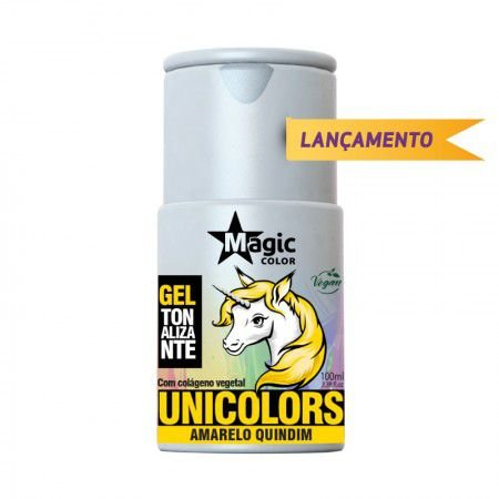 Unicolors Amarelo Quindim - Gel Tonalizante