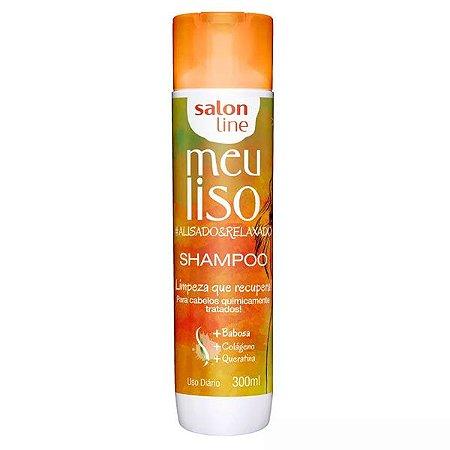 Shampoo Salon Line Meu Liso Alisado & Relaxado 300ml