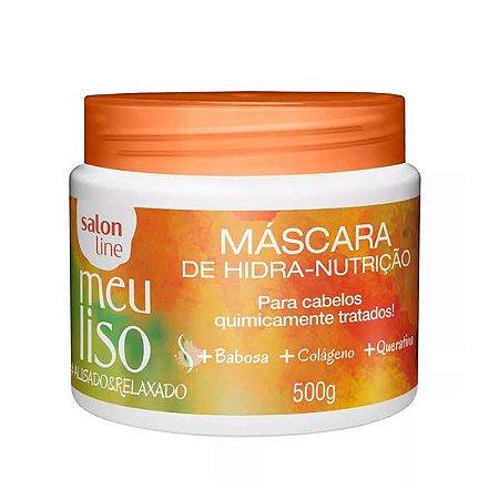 Máscara Salon Line Meu Liso Alisado & Relaxado 500g