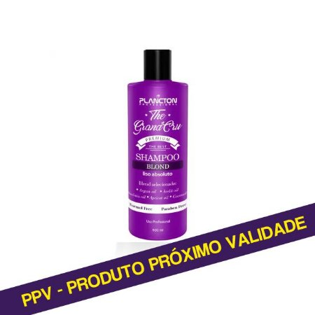 PPV Shampoo Blond Liso Absoluto The Grand Cru Plancton - 500ml