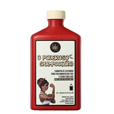 Lola Cosmetics O Poderoso Shampoo(zão) - Shampoo 250ml