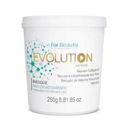 For Beauty Evolution Máscara Anti Desbotamento 250g