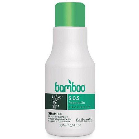 For Beauty Bamboo SOS Recuperação Shampoo 300ml