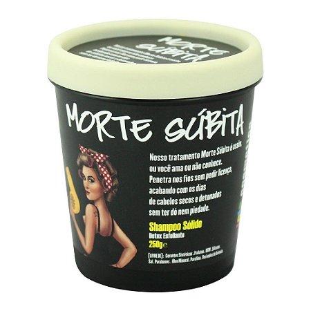Shampoo Sólido Detox Esfoliante Lola Morte Súbita 250g