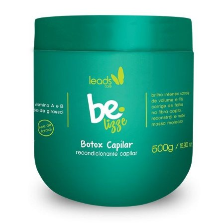 Be Lizze Btx Redutor Volume Recondicionante Capilar 500g