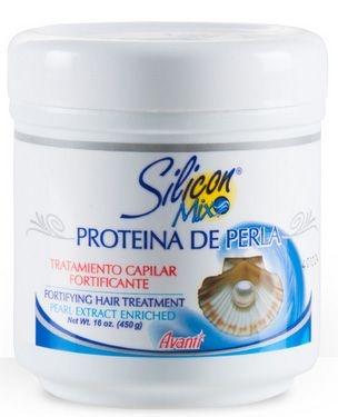 Tratamento Fortificante Proteína de Pérola Silicon Mix 450g
