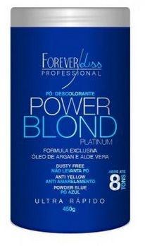Forever Liss - Power Blond Platinum Pó Descolorante Azul 450ml