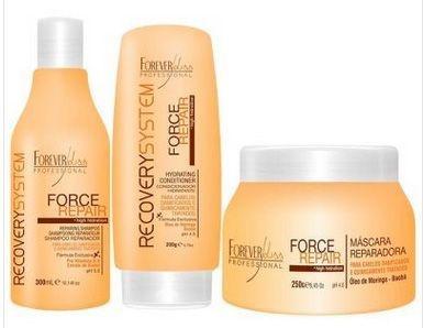 Force Repair Kit Shampoo, Condicionador e Máscara Home Care