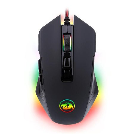 MOUSE GAMER REDRAGON DAGGER 2 CHROMA RGB 10000DPI PRETO - M715RGB-1