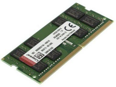 MEMÓRIA KINGSTON P/ NOTEBOOK 16GB 2666MHz, DDR4 - KVR26S19D8/16