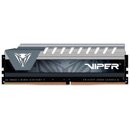 MEMÓRIA PATRIOT VIPER ELITE 16GB (1X16GB), 2400MHZ, DDR4, CL16, CINZA - PVE416G240C6GY