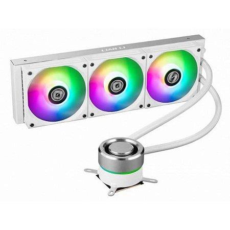 WATER COOLER LIAN LI, GALAHAD, RGB 360MM, INTEL-AMD, WHITE - GA-360A WHITE