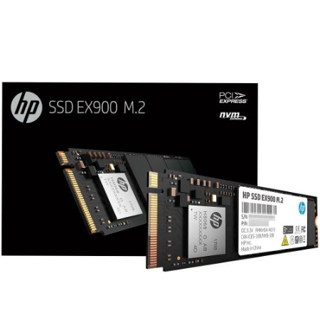 SSD HP EX900, 1TB, M.2, PCIE NVME, LEITURAS: 2150MB/S E GRAVAÇÕES: 1815MB/S - 5XM46AA#ABC