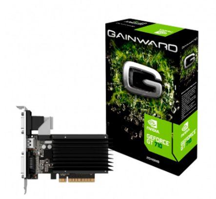 PLACA DE VÍDEO GAINWARD GT 710 2GB DDR3 64BITS - NEAT7100HD46-2080H