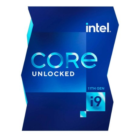 PROCESSADOR INTEL CORE I9 11900K 3.5GHZ (5.3GHZ TURBO), 11ª GERAÇÃO, 8-CORES 16-THREADS, LGA 1200 - BX8070811900K