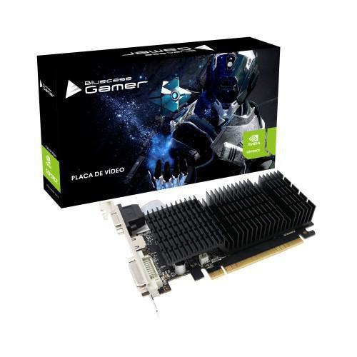 PLACA DE VÍDEO BLUECASE NVIDIA GEFORCE GT 710 2GB - BP-GT710-2GBD3D1