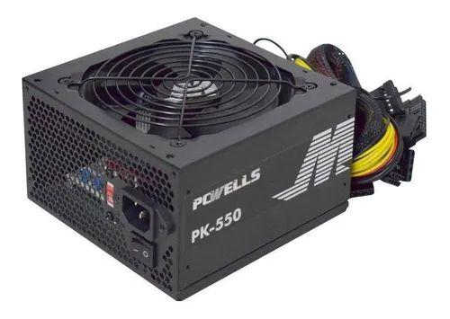 FONTE ATX 550W REAL GAMER PCWELLS PK-550 BIVOLT