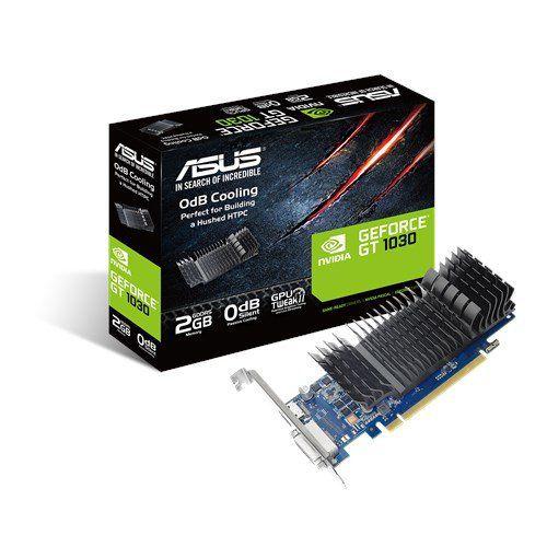 PLACA DE VIDEO ASUS GEFORCE GT 1030 2GB GDDR5 64-BIT - GT1030-SL-2G-BRK