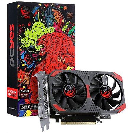 PLACA DE VIDEO AMD RADEON RX 560 4GB GDDR5 128 BITS, GRAFFITI SERIES, PCYES - PJRX560R5128