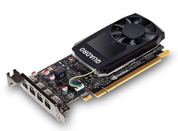 PLACA DE VÍDEO PROFISSIONAL NVIDIA QUADRO P1000 - 4GB GDDR5 - 128 BITS PNY - VCQP1000V2-PORPB