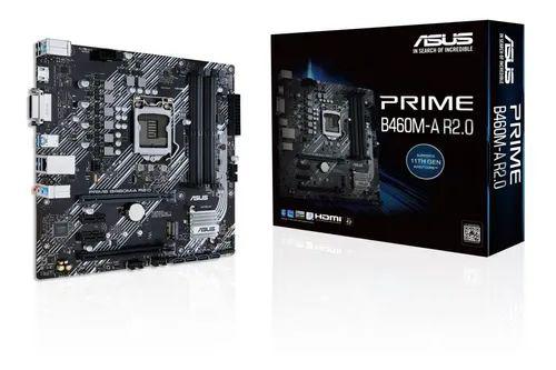 PLACA MAE ASUS PRIME B460M-A R.2 DDR4 SOCKET LGA1200 INTEL B460 - 90MB18A0-M0AAY0