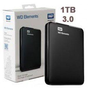 HD EXTERNO WD ELEMENTS 1TB USB 3.0