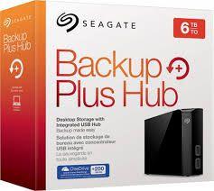 HD EXTERNO SEAGATE BACKUP PLUS 6TB USB 3.0