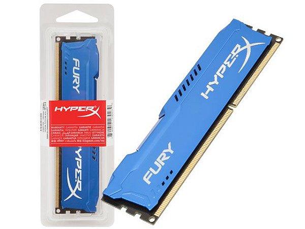 MEMÓRIA 4GB DDR3 1600MHZ HYPERX FURY
