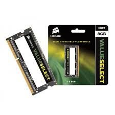MEMÓRIA 8GB DDR3 1600MHZ CORSAIR VALUE - NOTEBOOK