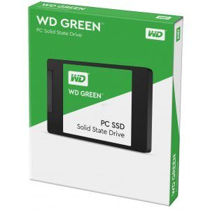 "SSD WD GREEN 120GB, 2.5"" SATA, LEITURA 545MB/s, GRAVAÇÃO 430MB/s - WDS120G2G0A"