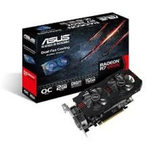 PLACA DE VÍDEO ASUS R7 260X 2GB DDR5 128 BITS