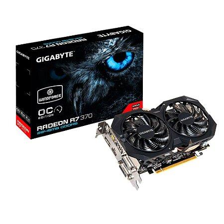 PLACA DE VÍDEO R7 370 2GB DDR5 256BITS GIGABYTE