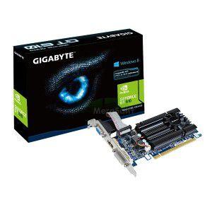 PLACA DE VÍDEO GT 610 1GB DDR3 64BITS GIGABYTE