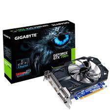 PLACA DE VÍDEO GTX 750TI 2GB DDR5 128BITS GIGABYTE