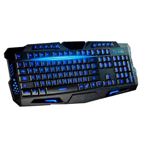 TECLADO GAMER MULTIMÍDIA LUMINOSO EMPIRE