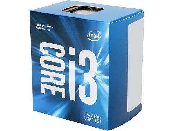 PROCESSADOR INTEL I3 7100 3.9GHZ 3MB SOCKET 1151