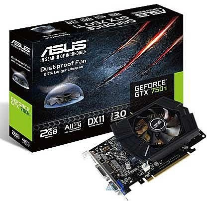 PLACA DE VÍDEO GTX 750TI 2GB DDR5 128BITS ASUS