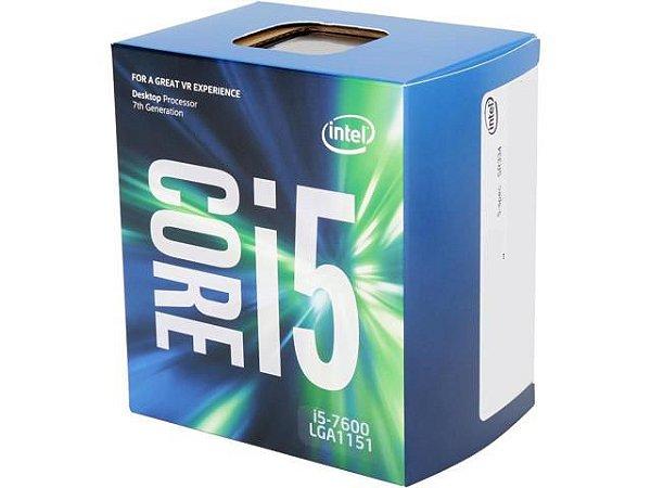 PROCESSADOR INTEL I5 7600 3.5GHZ 6MB SOCKET 1151