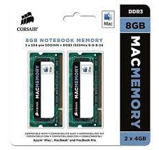 MEMÓRIA 2X4GB DDR3 1333MHZ CORSAIR MAC