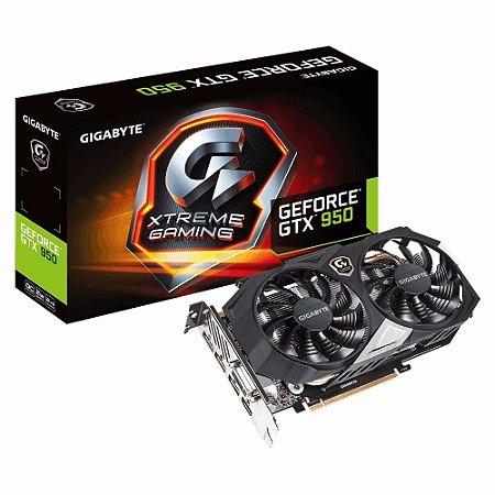 PLACA DE VÍDEO GEFORCE GTX 950 XTREME 2GB DDR5 128BITS GIGABYTE