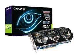 PLACA DE VÍDEO GEFORCE GTX 670 2GB DDR5 256BITS GIGABYTE