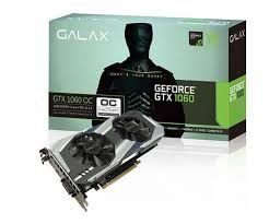 PLACA DE VÍDEO GTX 1060 6GB DDR5 192BITS GALAX