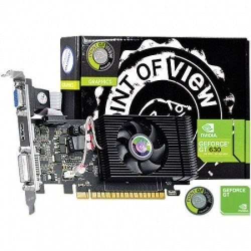 PLACA DE VÍDEO GT 630 4GB DDR3 128BITS POINT OF VIEW