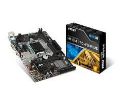 PLACA MÃE H110M PRO-VD PLUS SOCKET 1151 MSI